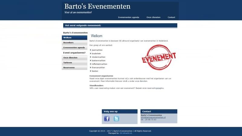 Barto's Evenementen